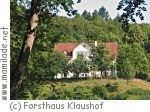 Forsthaus Klaushof bei Bad Kissingen