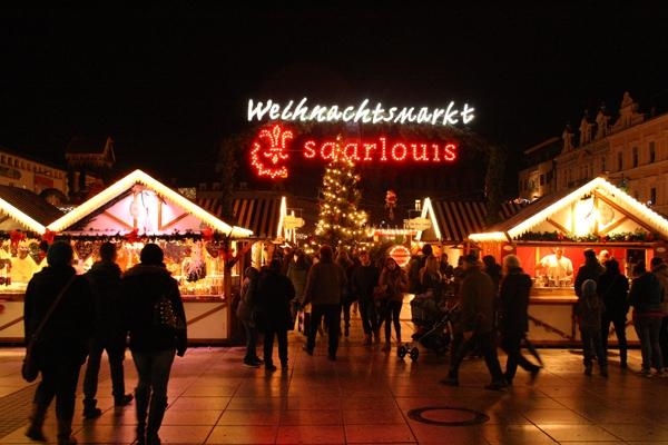 Weihnachtsmarkt in Saarlouis
