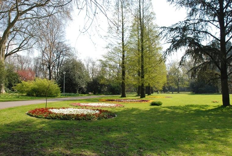 Der Kaiser-Wilhelm-Park in Essen