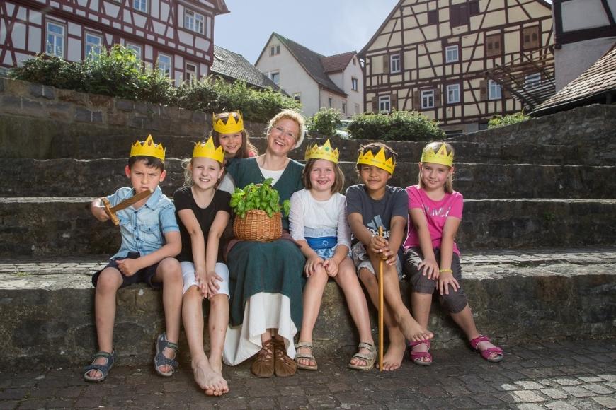 Kindergeburtstag in der Kaiserpfalz Bad Wimpfen