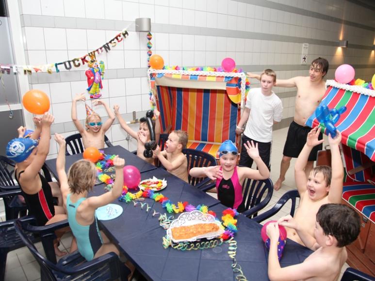 Kindergeburtstag im Schwimmzentrum Rendsburg