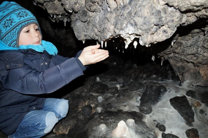 Kindergeburtstag in der Tropfsteinhöhle Schulerloch