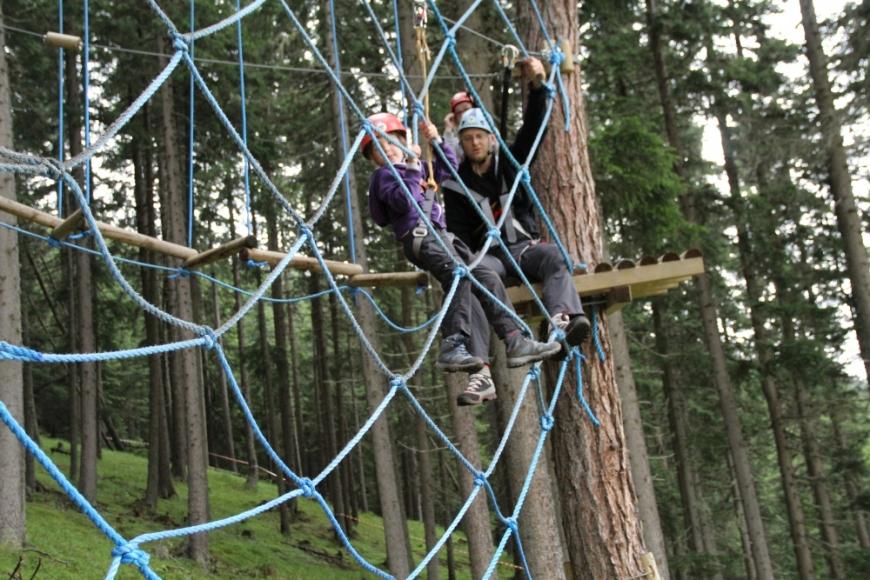 Symbolfoto TreeRock Abenteuerpark Hochsolling