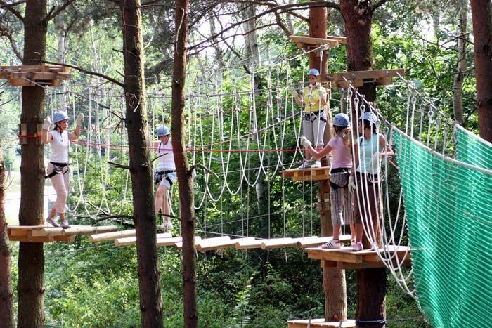 Der CLIMB UP! - Kletterwald® in Hennigsdorf