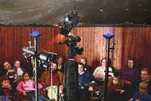 Im Planetarium in Köln-Nippes (c) Planetarium Köln