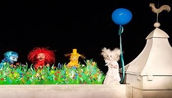 verschiedene Figuren des Mensch, Puppe! Das Bremer Figurentheater