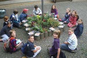 Literarische Stadtwanderung für Kinder durch Weißenburg (c) Limes-Informationszentrum Weißenburg