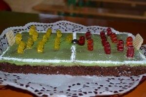Fußballer-Geburtstagstorte