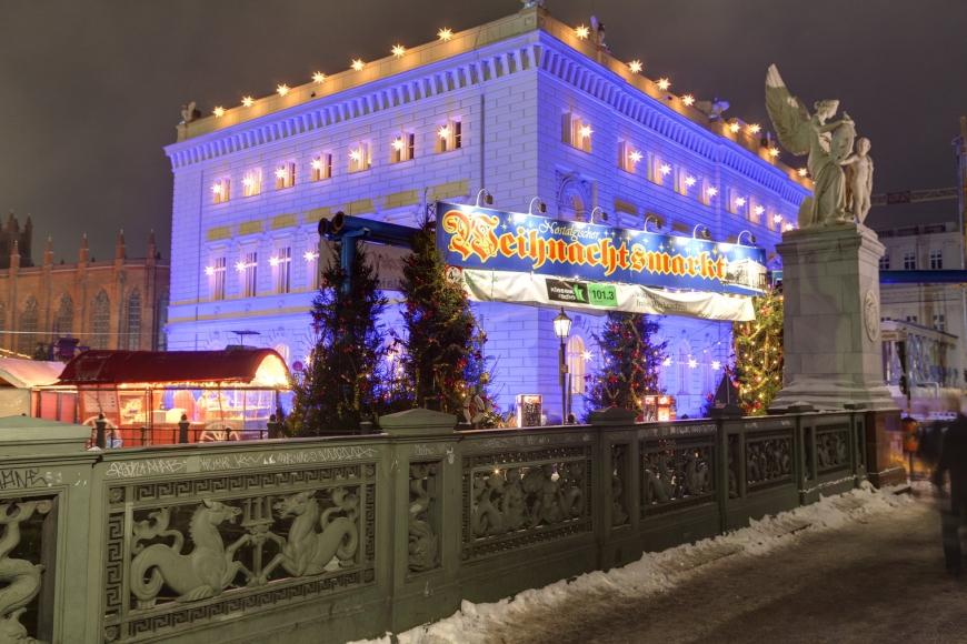 Nostalgischer Weihnachtsmarkt in Berlin