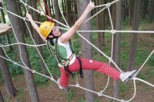 Pfronten Waldseilgarten Höllschlucht Geburtstag