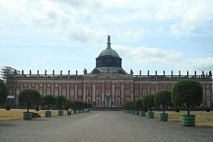 Sanssouci, Neues Palais in Potsdam