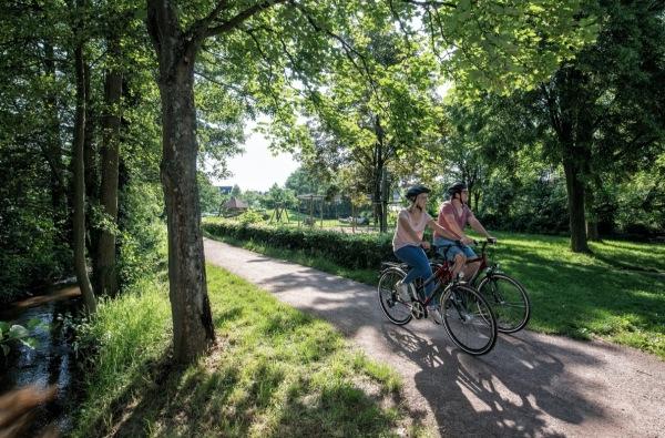 Queichtal-Radweg in Hauenstein