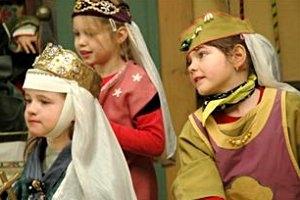 Kindergeburtstag auf Schloss Neuenburg