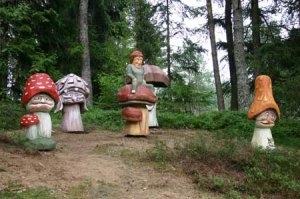 Figuren im Schlühüwanapark
