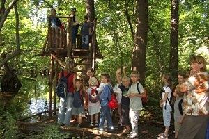 Kleiner Spreewald-Park Schöneiche bei Berlin