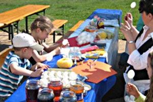Kindergeburtstag auf dem Gut Sarnow in Schorfheide