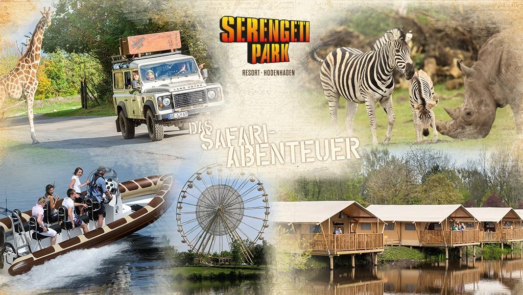 Abenteuer-Safari im Serengeti-Park Hodenhagen