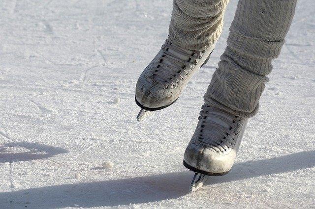Eisfläche in Bischofsgrün