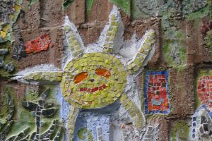 Mosaik-Sonne