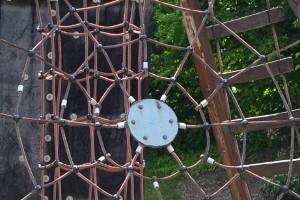Spielplatz Spinnenweben