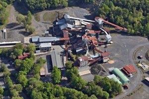 Luftaufnahme des Stöffelparks (c) Stöffel-Park Enspel