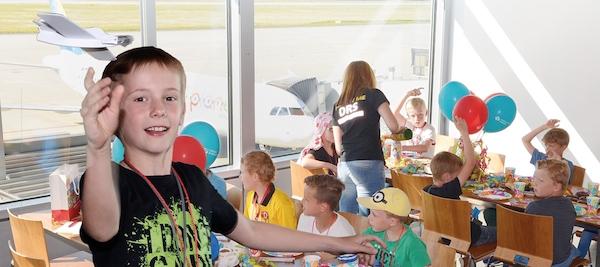 Kindergeburtstag Flughafen Dresden
