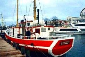 In Warnemünde mit dem Kutter zum Angelausflug auf die Ostsee