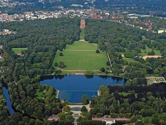 Der Stadtpark in Hamburg