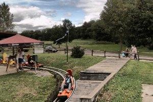 Kindergeburtstag auf der Rodelbahn in Wippra