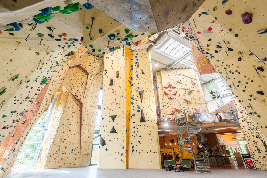 Kletterzentrum Wupperwände