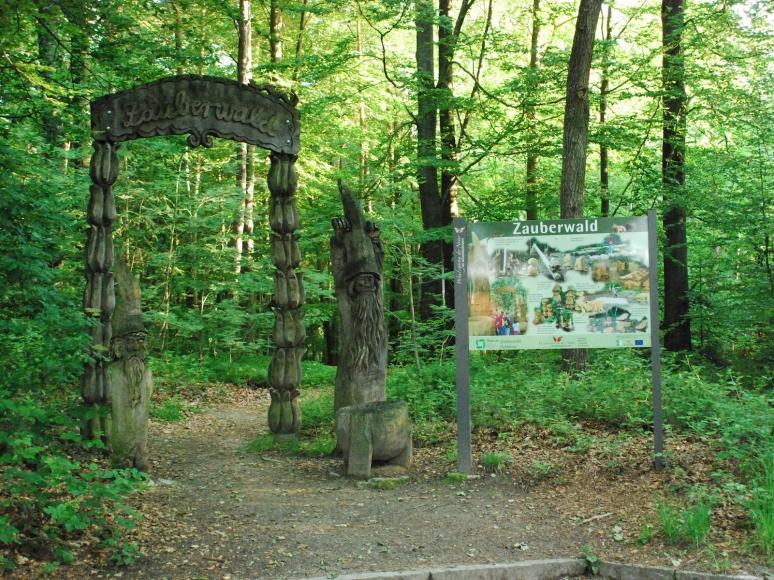 Eingangstor Zauberwald