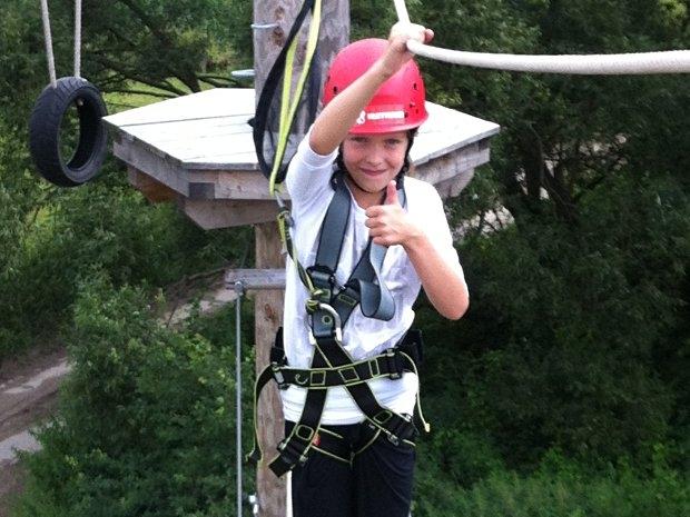 Klettern macht Spaß