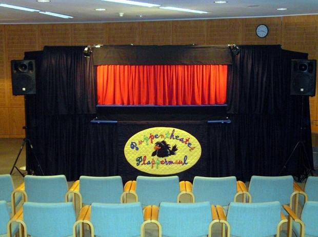 Mobile Bühne (c) Puppentheater Plappermaul Heidelberg