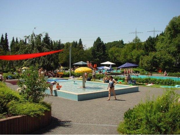 Wasserspaß im Freibad