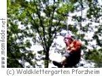 Pforzheim Waldklettergarten Kindergeburtstag