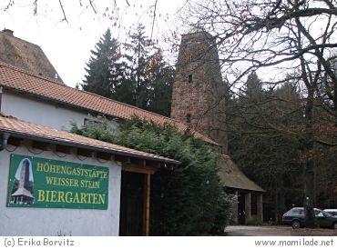 """Wilhelmsfeld """"Zum Weißen Stein"""" Höhengaststätte"""