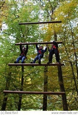 Schmellbachtal Waldklettergarten Kindergeburtstag