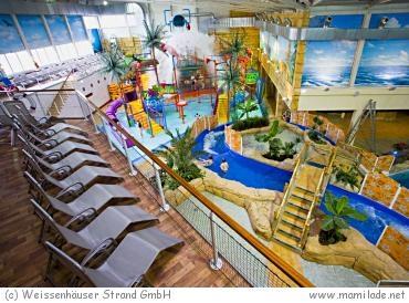 Weissenhäuser Strand Subtropisches Badeparadies