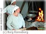 Burg Ronneburg - mittelalterliches leben