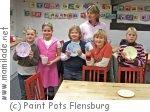 Kindergeburtstag im Paint Pots Keramikmalstudio in Satrup