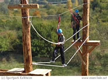 Hochseilgarten Sportpark Kelkheim -