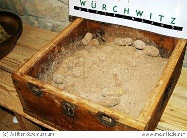 Milbenkäsemuseum in Würchwitz