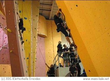 XXL Klettern in Dresden