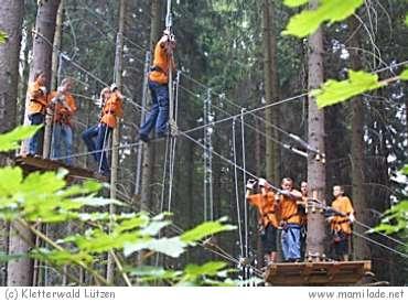 Kletterwald Lützen