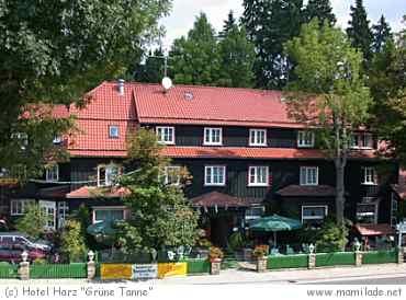 "Hotel ""Grüne Tanne"" Mandelholz"