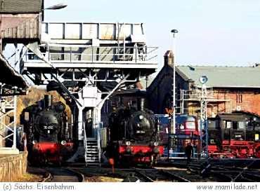 Eisenbahnmuseum Chemnitz/Hilbersdorf