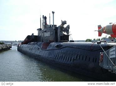 U-Boot U 461 in Peenemünde