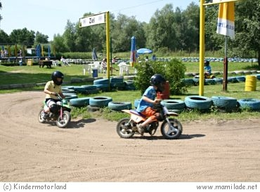 Kindermotorland in Niendorf