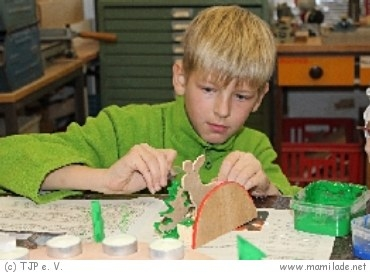 Tüftelwerkstatt im Lern- und Erfinderlabor in Berlin