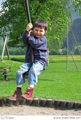 Spielplatz in Bad Reichenhall
